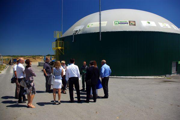 Na bioplinskom postrojenju Bioplinara organica Kalnik 1 d.o.o. održan sastanak Vijeća Udruženja energetike