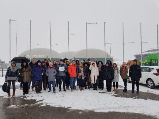 Sudionici studijskog putovanja posjetili bioplinaru u Gregurovcu